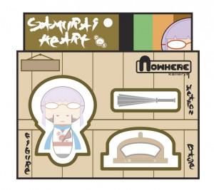 mouth-Gin shake box Saru